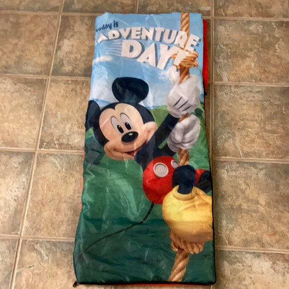MICKEY MOUSE TODDLERS SLEEPING BAG-LIGHT WEIGHT